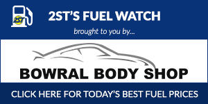 2ST Fuel Watch - brought to you by Bowral Body Shop